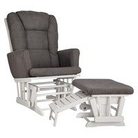 Graco® Sterling Semi-Upholstered Glider and Nursing Ottoman
