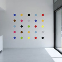 Living Room Wall Stickers - spots wall stickers - artistic decor