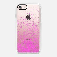 pink sparks iPhone 7 Case by Marianna | Casetify