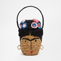 Lulu Guinness Frida Novelty Basket Bag