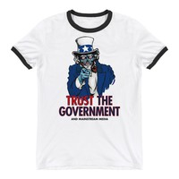 They Live Alien Uncle Sam Ringer T-Shirt