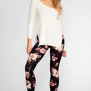 Once and Floral Leggings