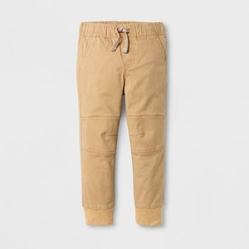 Toddler Boys' Pull-on Pants Cat & Jack™ Brown Paper
