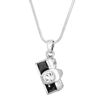 Photographer Camera Charm Pendant Necklace