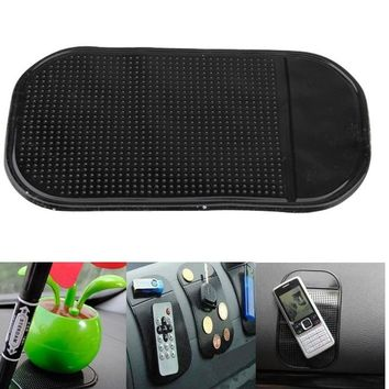 4Pcs Universal Car Dashboard pad Anti-slip Mat for phone pad GPS Sticky mats in the car phone holder for phones GPS key