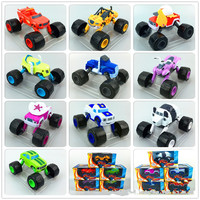 WISHTIME Blaze Monster Machines Toy Vehicles Cool Russia blaze miracle cars Kid Toys Vehicle Hot Car Transformation Toys Wheel