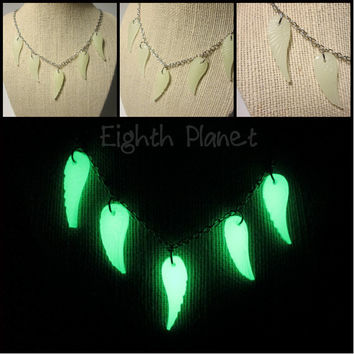 Faerie Wings - Glow in the Dark Necklace