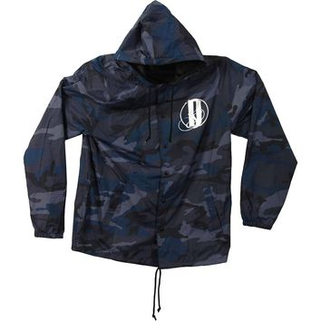 Darkness Divided Men's  Camo Windbreaker Multi