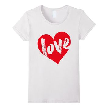 Love Heart Shirt by Cute Valentines Day T-Shirts