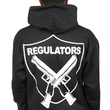 BREEZY EXCURSION ONLINE SHOP/STORE/SPENDING CENTER — Regulators Hoodie Black Men's
