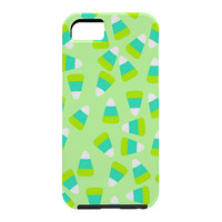 Lisa Argyropoulos Candy Corn Jumble Fang Green Cell Phone Case
