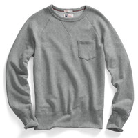 Classic Pocket Sweatshirt in Grey Mix