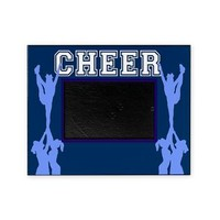 Cheerleader blue Picture Frame> Picture Frames> Designs by Alex