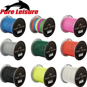 PureLeisure 4 Stands 100m Steel Fishing Wire 100M Fishing Line Braided Fil De Peche 4 Braid Trenzado Pesca 100m Gevlochten Lijn