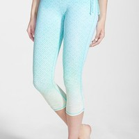 O'Neill 'Avalon' Ombre Surf Capri Leggings