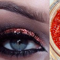 Copper Professional Grade Cosmetic Makeup Glitter great as an Eyeshadow, Eyeliner, Lipgloss, Hair Glitter