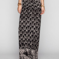 Billabong Starry Light Maxi Skirt Off-Black  In Sizes