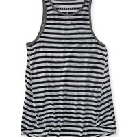 Aeropostale  Striped Hi-Lo Tank