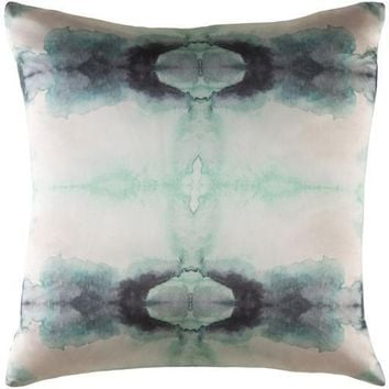 Kalos Green Silk Pillow