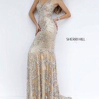Sherri Hill 1959 Jeweled Evening Gown