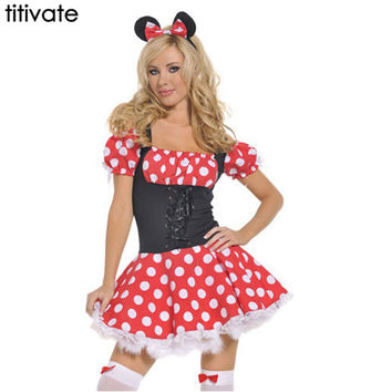 Minnie Costume for Women Cosplay Sexy Fantasy Women
