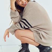 BDG Distressed Hockey Pullover Sweater | Urban Outfitters