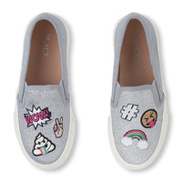 Girls Patch Slip-On Sneaker   The Children's Place