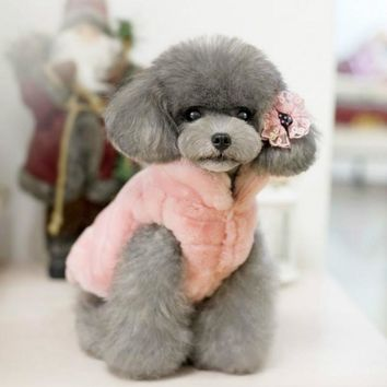 Dog Clothes Winter Poodle Yorkshire Chihuahua Clothing ropa para perros manteau chien Dog Coat Jacket Apparel for Dog outfit