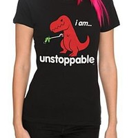 Goodie Two Sleeves Dino Unstoppable Girls T-Shirt - 301097