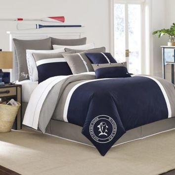 Southern Tide® Starboard European Pillow Sham in Navy