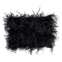 Donna Karan Feathered Pillow - Black (Online Only)