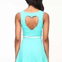 HEART THIEF BOW DRESS