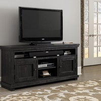 Willow Casual 64 Inch Console Distressed Black