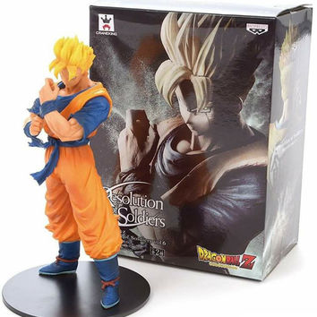 Banpresto Dragon Ball Z Resolution Of Soldiers ROS Super SaiYan Future Gohan PVC Action Figure Model Toy Figurals DBZ Vol.6