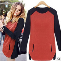 Fashion Spring Women Loose T-Shirt a13121