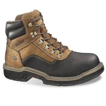 Wolverine Corsair Men's Extra Wide-Width 6-in. Waterproof Composite-Toe Work Boots (Brown)