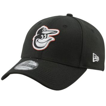 New Era Baltimore Orioles Black Team Tonal 39THIRTY Fitted Hat