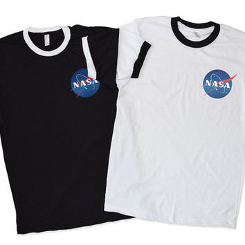 NASA SHIRT / TRENDY Nasa Tumblr Space Shirt / Women Nasa Shirt / Cute Nasa Shirt/Gifts for her / Nasa Logo T shirt / Nasa T Shirt