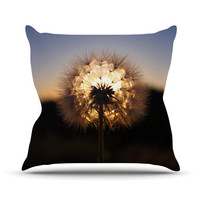 "Skye Zambrana ""Glow"" Throw Pillow"