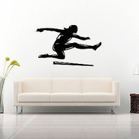 Track Field Sport Athletic Contest Various Competitive Wall Sticker Decal 3644