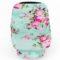 Teal Rose Multi-Use Nursing Cover