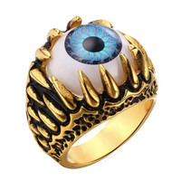 Eye Lotus Ring