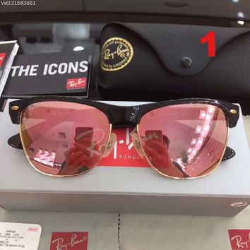 Ray Ban RB 4175 Oversize Clubmaster 901/40 Shiny Sunglasses