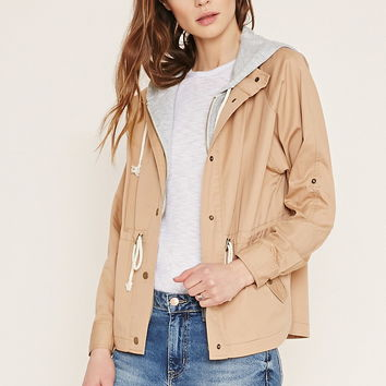 Contemporary Hooded Jacket