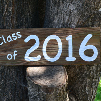 Class of 2016 photo prop