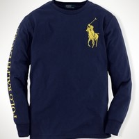 Cotton Big Pony Tee
