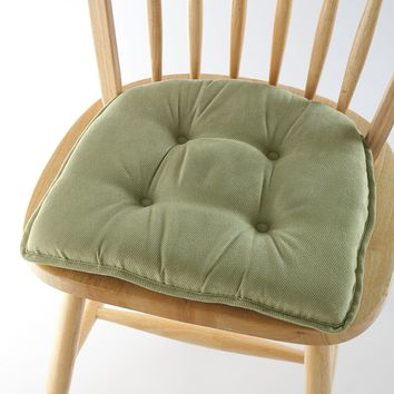 Solid Chair Pad (Green)