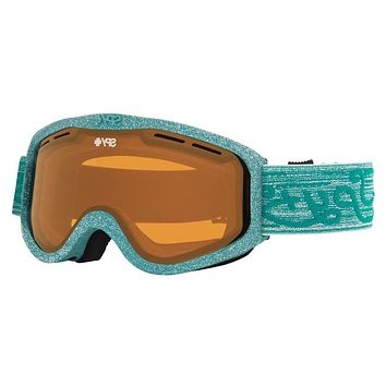 Spy - Cadet Pixie Green Goggles, Persimmon Lenses