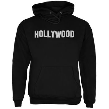 Hollywood Black Adult Hoodie