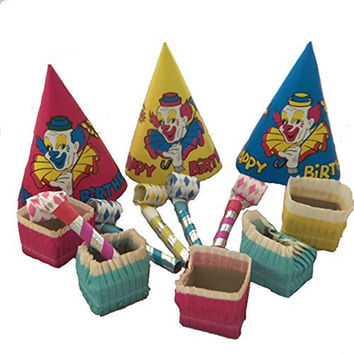 Party Time Retro Circus Theme Party Pack